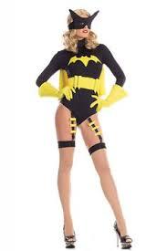 Halloween Costumes Batgirl Roma Purpel Gold Bat Warrior Batgirl Superhero Comic