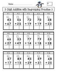 created for elementary age students this is 4 pages of addition