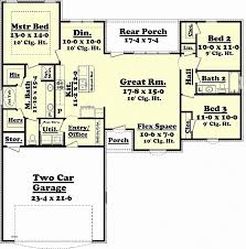 1500 sq ft home plans uncategorized 1500 sq ft ranch house plans for impressive 1700