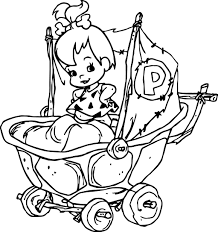 holly hobbie coloring pages the flintstones baby pebbles flintstone coloring pages