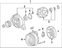 lexus gs300 parts diagram parts com lexus gs300 alternator oem parts
