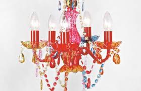 Pink Gypsy Chandelier Chandelier Vintage Chandelier Stunning Coloured Chandeliers 5