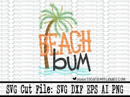 palm tree svg so cute appliques