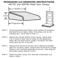 awning installation instructions rainwear