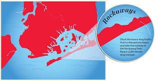 Hamptons Map Lewis Del Mar On Their Rockaway Beach Neighborhood And Upcoming