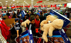 target reports strong start to black friday weekend and in