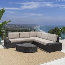 Buy Cane Chairs Online India Amazon Com Reddington Outdoor Patio Furniture 6 Piece Sectional