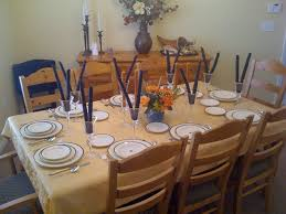 kitchen table setting ideas awesome table decorating ideas for dinner parties images