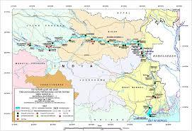 Varanasi India Map by Navigating National Waterway 1 Or The Ganga As We Call It