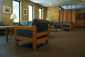 College Lounge Chair Hoyum Hall Concordia College