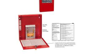fire alarm document cabinet national fire protection association nfpa code requirements compel