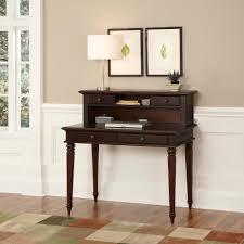 Secretary Desk And Hutch by Home Styles Espresso Bermuda Student Desk And Hutch