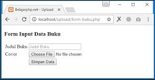 cara membuat form upload file dengan php tutorial upload file dengan php dan cara validasinya belajarphp net