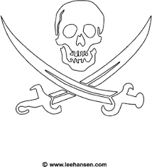 pirate flag coloring