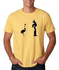 mens crane kick pose master karate kid movie funny t shirt tee ebay