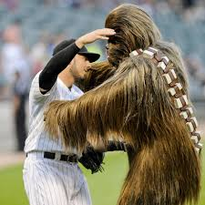 spirit halloween chewbacca athletes embracing the spirit of star wars si com