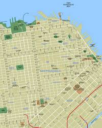 San Francisco Transportation Map by Maps U2014 San Francisco Bay Area Sfgate