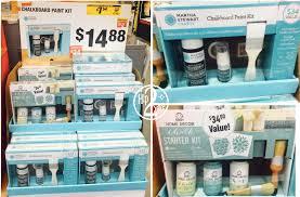 home depot clearance find martha stewart chalkboard paint kit