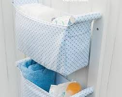 Diaper Organizer For Changing Table Diaper Caddy Wall Hanging Organizer Nursery Storage Basket