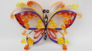 how to make a quilling butterfly diy tutorial free pattern