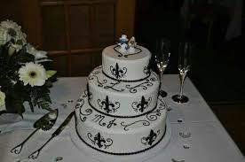 wedding cakes new orleans new orleans saints wedding cake cakes by new orleans saints