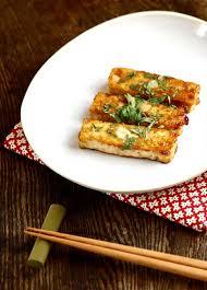 cuisiner tofu poele tofu au beurre de wasabi laure kié