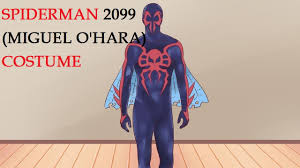 halloween costume spiderman how to make a spider man costume spiderman 2099 miguel o u0027hara