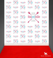 step and repeat backdrop wedding step and repeat backdrop with arrows carpet