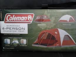 reviews coleman 4 person evanston tent with screened porch canopy