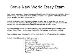 mla quote novel brave new world essay slides