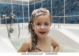 pretty verry young boys washing hairs cute little girl washes her hair stock photo 649690939 shutterstock