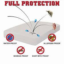 Dust Mite Crib Mattress Cover Best Crib Mattress Protector Zippered Encasement Will Keep Your