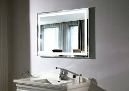 Bathroom Lights Mirror Integrity Lighted Mirror Lighted Mirrors For Bathroom Lighting