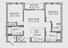 2 bedroom floorplans 2 bedroom apartments bloomington gateway commercial space and