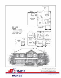 River City Phase 1 Floor Plans by Whisper Creek Adams Homes