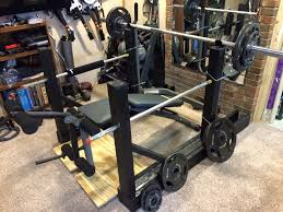 Bench Press Safety Stands Fit Corner Diy Bench And Squatter Catchers