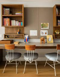 Duplex Home Interior Design Architecture Cool Study Room Furniture Set In Patented Style Of