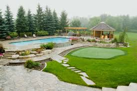 cheap landscaping ideas for above ground pools backyard best small
