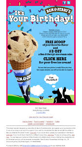 Ben And Jerry S Gift Card - kikki k enjoy a 10 gift voucher birthday email the best of email
