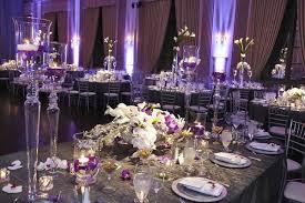wedding re stunning chicago wedding with purple lighting ivory florals