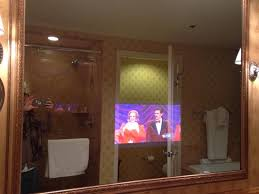 Hotel Bathroom Mirrors by Tv In The Bathroom Mirror Picture Of The Hermitage Hotel