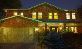 christmas projection lights 1 000 point led projector lights groupon