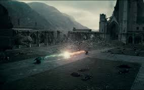 wallpaper whatsapp harry potter harry potter voldemort fighting magic hogwarts death battle at