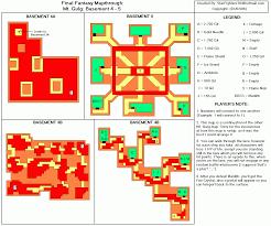 Final Fantasy 2 World Map by Final Fantasy Mt Gulg Basement 4 Basement 5 Map For
