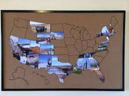 Show Me A Map Of Alaska by Travel Memories Map Draw A Map On A Cork Notice Board Resize