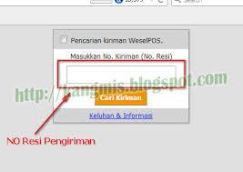 Cek Resi Cara Cek Resi Ekspedisi Pos Indonesia Kang Mis