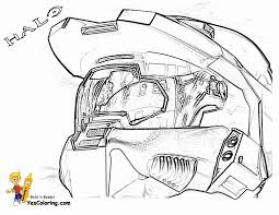 fearless halo3 coloring master chief special http www