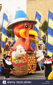 philadelphia pa thanksgiving day parade turkey float stock photo