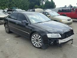 audi a8 2006 2006 audi a8 for sale nc raleigh salvage cars copart usa