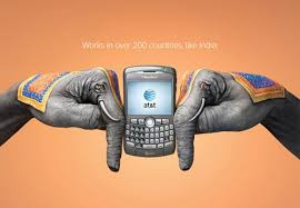 creative images international creative ads from at t wireless international roaming hongkiat